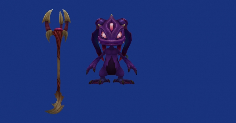 League of legends pre release teaser void fizz skin