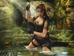 tomb raider by renegadeofwii