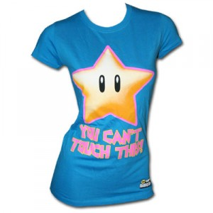 Mario_Star_Cant_Touch_Blue_Babydoll