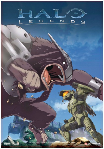 Halo Legends Soundtrack Hitting stores February 9th