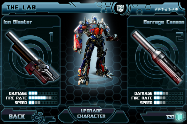 transformers dark of the moon game playable characters. TRANSFORMERS Dark of the Moon