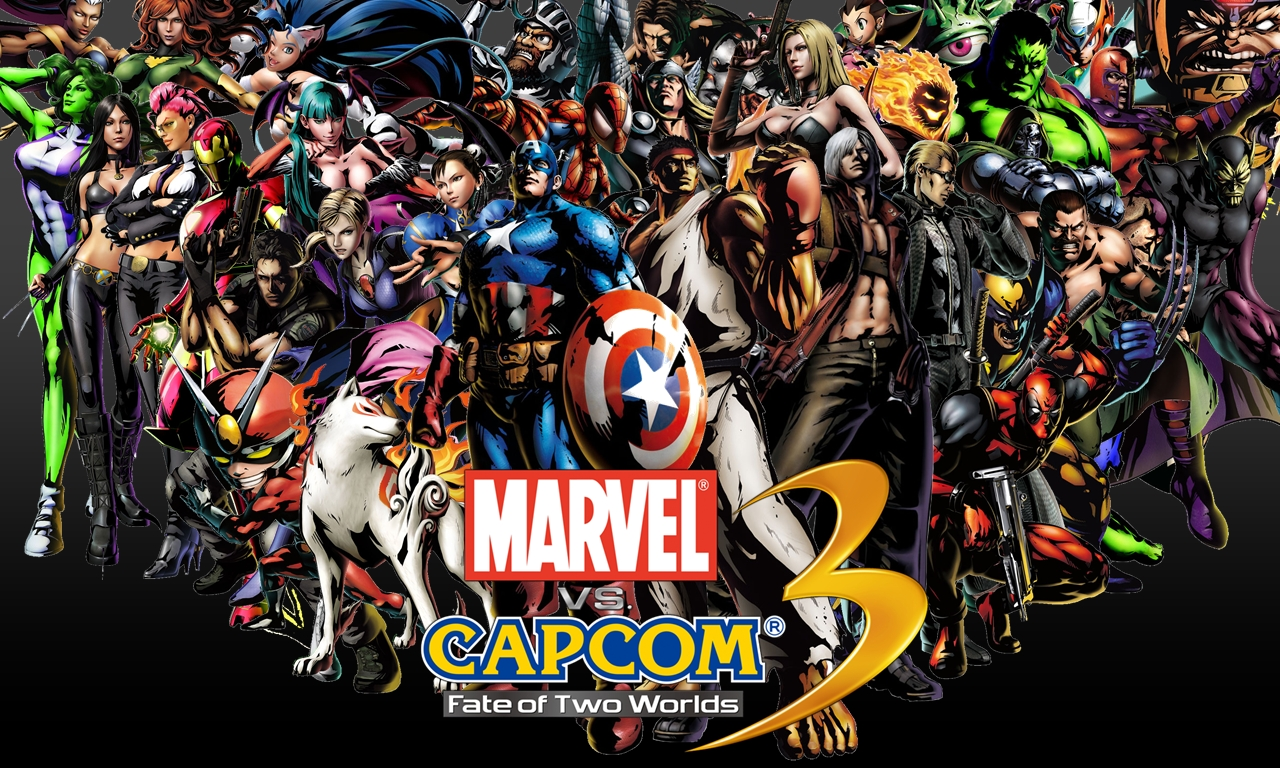 Wallpapers marvel vs capcom 3 hd