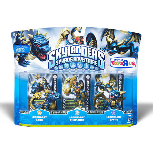 Skylanders Toys R Us : Skylanders spyro s adventure legendary triple pack back at