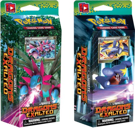 Pokemon TCG DRAGONS EXALTED Releasing Soon!