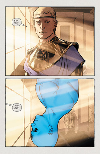 Review Before Watchmen Dr Manhattan 4 Nothing Ends
