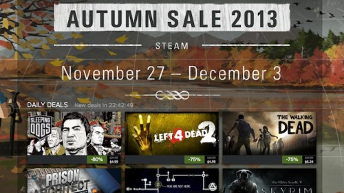The Steam Autumn Sale continues for Cyber Monday, with great deals across the Steam catalog. This is the final day to take advantage of Autumn Sale discounts!* In addition to discounts on thousands of great games, join the nomination process for the Steam Awards.