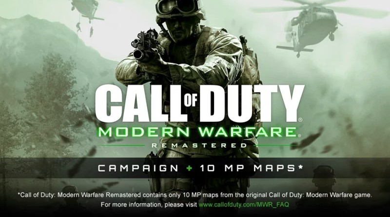 Call of Duty 4: Modern Warfare Remastered w/ Legacy Edition