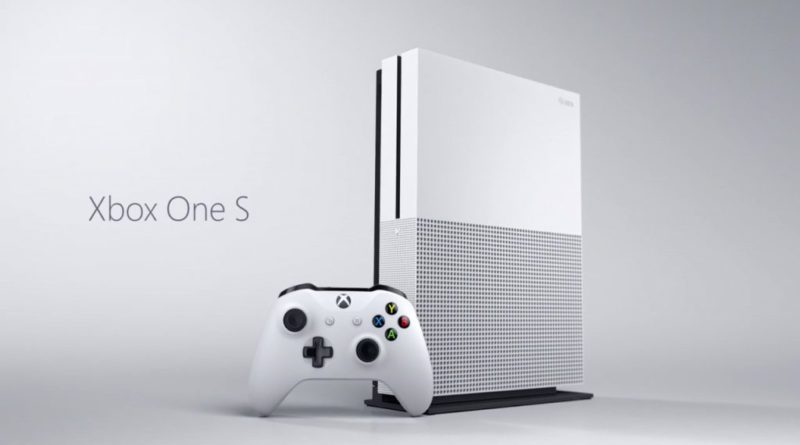 Mircosoft XBox One Slim will launch August 2 at $400