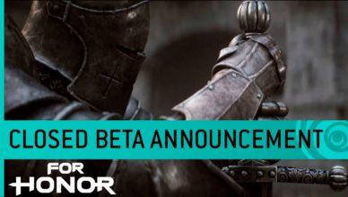 For Honor Trailer: Closed Beta Date Announcement
