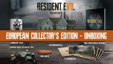 RE7 – European Collector's Edition Unboxing
