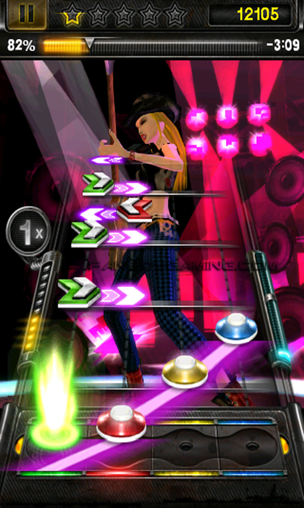 GUITAR HERO NOW AVAILABLE ON APP STORE