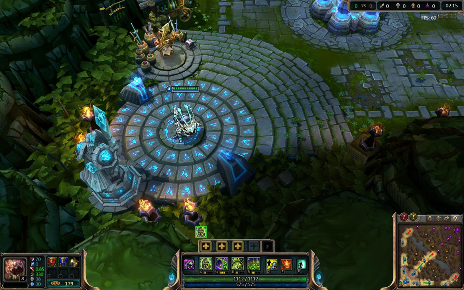 League of Legends: Game HUD and Item Shop update